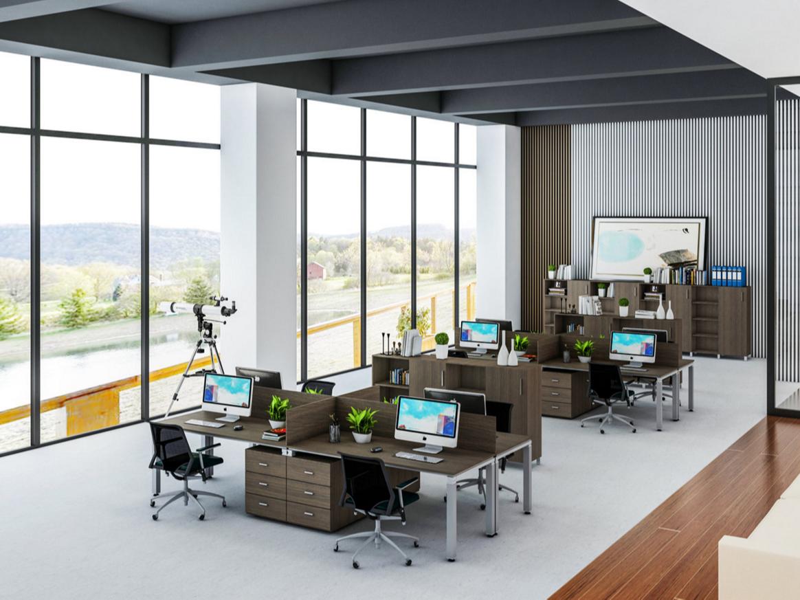 关于板式办公家具颜色选择上的一些建议  [智兴家具]