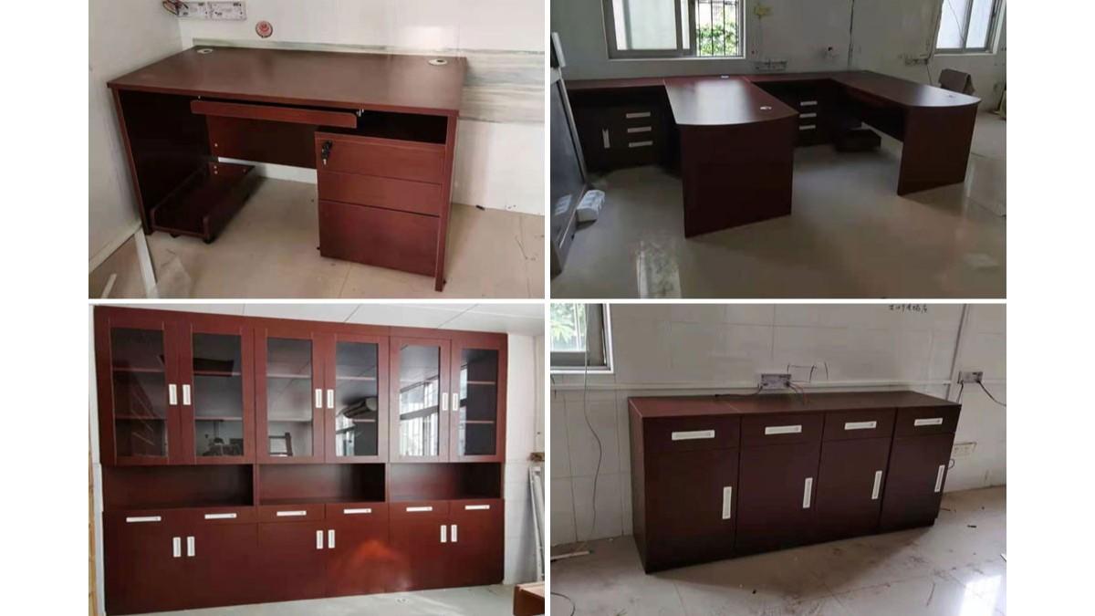 沙园街社区卫生站办公家具定制案例 欣赏-广州智兴家具