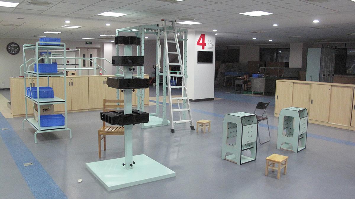 广东省工伤康复医院与智兴家具合作定制医院器材