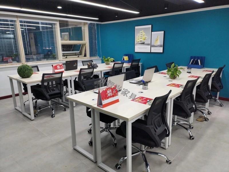 广州办公室家具员工办公桌的几种类型 -广州智兴家具