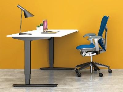 运用人体工程学的办公桌设计  [智兴家具]