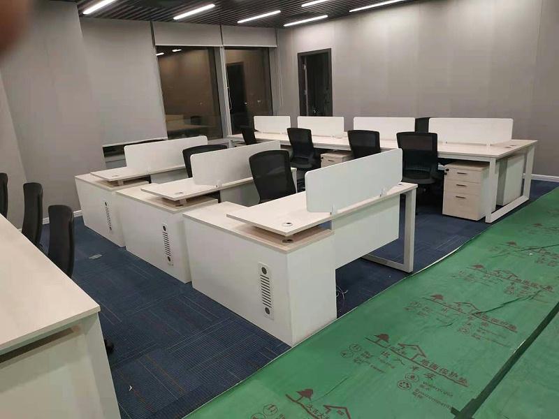 官洲生命科技创新中心办公家具定制案例 -广州智兴家具
