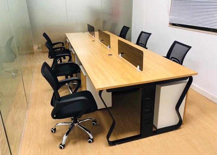 钢艺办公桌 [智兴家具]