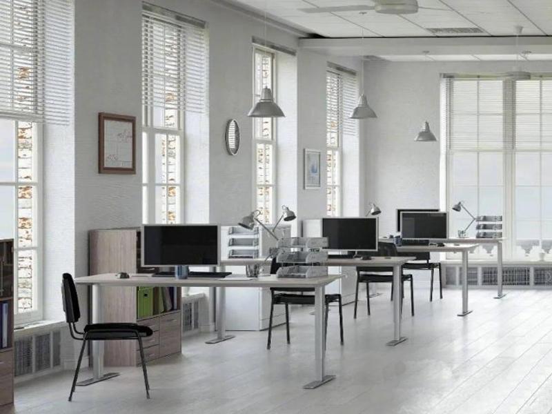 员工办公室该怎么设计办公家具?[智兴家具]
