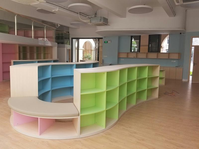 广州南沙实验学校家具定制案例 -广州智兴家具