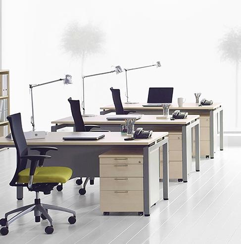 职员办公桌-ZXJJ09