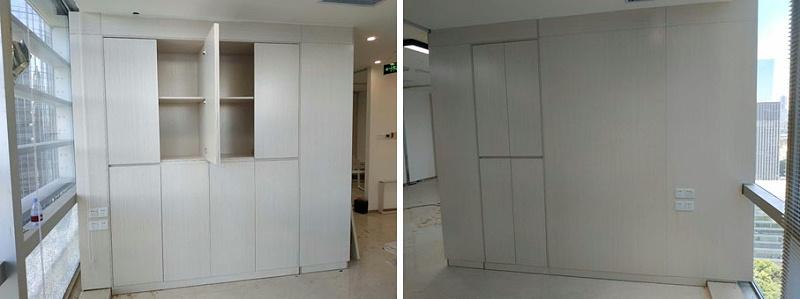深圳龍脊康诊所家具定制案例